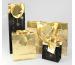 CLAIREFON Shopping Bag 32x13x25cm 212840C schwarz/gold