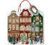 COPPENRAT Adventskalender Tasche 94115 Weihnachtsstrasse 32x34cm