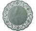 DEMMLER Tortenspitzen 3667/60 grün 3 Stück