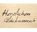 LASEREI Holzgrusskarte HGGL0111 Glück 11