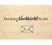 LASEREI Holzgrusskarte HGSO0106 Sonstige 06