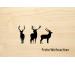 LASEREI Holzgrusskarte HGWE0103 Weihnachten 03