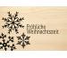 LASEREI Holzgrusskarte HGWE0104 Weihnachten 04