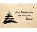 LASEREI Holzgrusskarte HGWE0112 Weihnachten 12