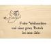 LASEREI Holzgrusskarte HGWE0117 Weihnachten 17