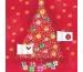 DUMONT Advent Oh Weihnachtsbaum 809630717 D, 30x30cm