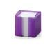 DURABLE Zettelbox Trend 10x10cm 170168299 violett transp.