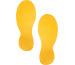 DURABLE Bodenmarkierungsform -Fuss 172704 90x240x0,7mm,10 Stück