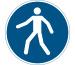 DURABLE Symbol -Fussgängerweg 173106