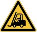 DURABLE Symbol -Warnung Vor Flurförd. 173404