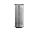 DURABLE Schirmständer rund 28.5lt 337123 silber, Edelstahl 620x260mm