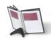 DURABLE Displaysystem SHERPA Soho 554001 schwarz, mit 5 Sichttafeln A4