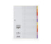 DURABLE Register Varicolor 674327 PP,Universallochung,10-teilig