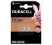 DURACELL Knopfbatterie Specialty 357/303 V357, V303, SR44W,1.5V 2 Stück