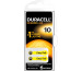 DURACELL Hörgeräte Batterie Easy Tab 4-077559 10 Zinc Air D6, 1.4 V. 6 Stk.