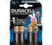 DURACELL Batterie Ultra Power MX1500 AA, LR6, 1.5V 4 Stück