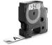 DYMO Schriftband D1 schwarz/weiss S0720830 19mm/7m