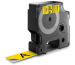 DYMO Schriftband D1 schwarz/gelb S0720880 19mm/7m