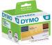 DYMO Adressetiketten PP 89x36mm S0722410 transp., permanent 260 Stk.