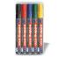 EDDING Boardmarker 250 250-E5 5 Farben, Etui