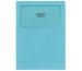 ELCO Sichthülle Ordo Classico A4 29469.31 blau, ohne Linien 100 Stück