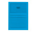 ELCO Sichthülle Ordo 120g A4 29489.32 intensivblau, Fenster 100 Stk.