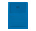 ELCO Sichthülle Ordo 120g A4 29489.33 königsblau, Fenster 100 Stück