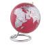 EMFORM Globus MINI GALILEI SE-0705 Höhe 17, Ø 13.5cm rot