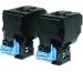 EPSON Toner-Modul Duo schwarz S050594 AcuLaser C3900 2x6000 Seiten