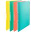 ESSELTE Sichtbuch 40 Hüllen A4 626229 Colour´Ice, 5 Stück je Farbe