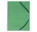 EXACOMPTA Gummibandmappe A4 55983E grün