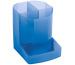 EXACOMPTA Stifteköcher Mini-Octo 67510D blau-transp. 123x90x110mm