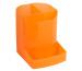 EXACOMPTA Stifteköcher Mini-Octo 67552D orange-transp. 123x90x110mm