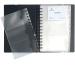 EXACOMPTA Visitenkarten-Buch 145x220mm 75034E schwarz 120 Karten