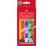 FABER-CA. Radierbare Farbstifte 116612 sechskant, 12 Farben
