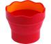 FABER-CA. Wasserbecher CLIC & GO 181517 brombeer, für Pinsel