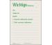 FAVORIT Mitteilungsblock A6 106 recycling 60 Blatt