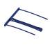 FELLOWES Archiv Clip 0089801 blue 50 Stk.