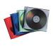 FELLOWES Slimline CD Cases 98317 farbig 25 Stück