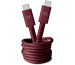FRESH´N R USB-C Fabriq cable 1.5m 2CCC150RR Ruby Red