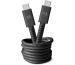 FRESH´N R USB-C Fabriq cable 1.5m 2CCC150SG Storm grey