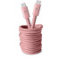 FRESH´N R USB-C Fabriq cable 3.0m 2CCC300DP Dusty Pink