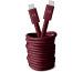 FRESH´N R USB-C Fabriq cable 3.0m 2CCC300RR Ruby Red