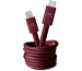 FRESH´N R Apple Lightning 1.5m 2CLC150RR Fabriq cable Ruby Red