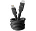 FRESH´N R Apple Lightning 1.5m 2CLC150SG Fabriq cable Storm grey