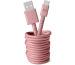 FRESH´N R USB-C Fabriq cable 3.0m 2UCC300DP Dusty Pink