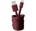 FRESH´N R USB-C Fabriq cable 3.0m 2UCC300RR Ruby Red