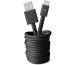 FRESH´N R USB-C Fabriq cable 3.0m 2UCC300SG Storm grey
