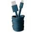 FRESH´N R USB-Apple Lightning cable 3m 2ULC300PB Petrol Blue