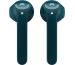 FRESH´N R Twins headphones 3EP710PB Wireless, In-Ear Petrol Blue